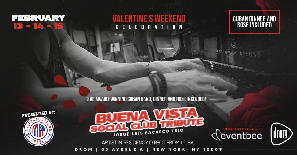 St. Valentine's Latin Jazz with Pacheco (Friday Shows)