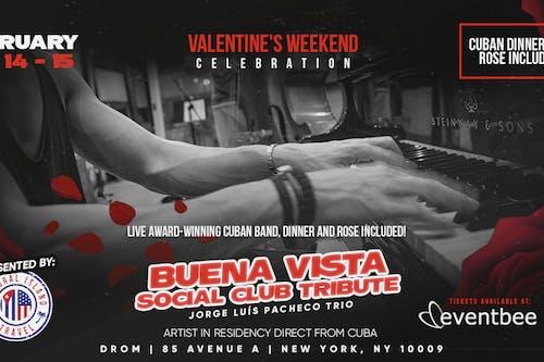 St. Valentine's Latin Jazz with Pacheco (Saturday Shows)