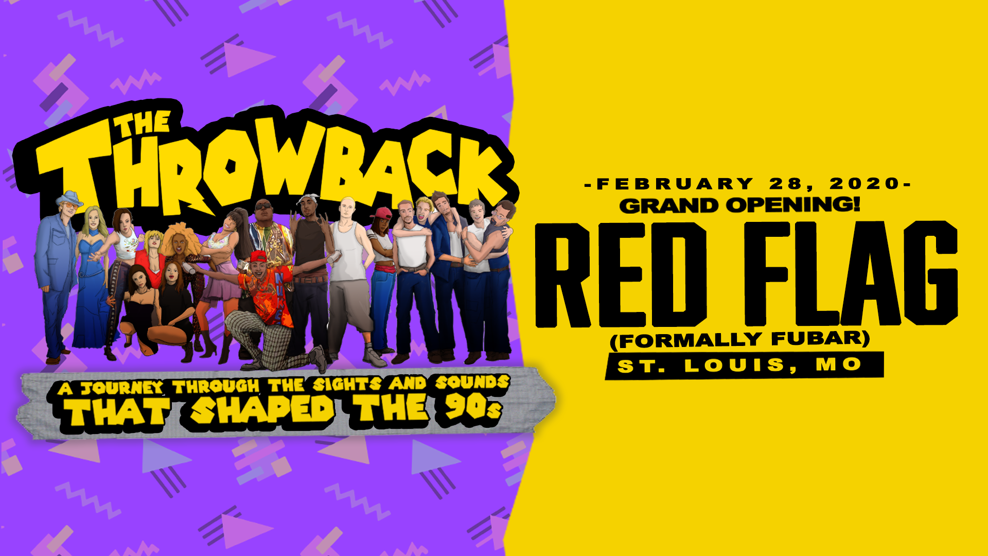 The Throwback Party at Red Flag
