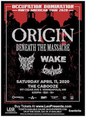 ORIGIN - Occupation Domination Tour 2020