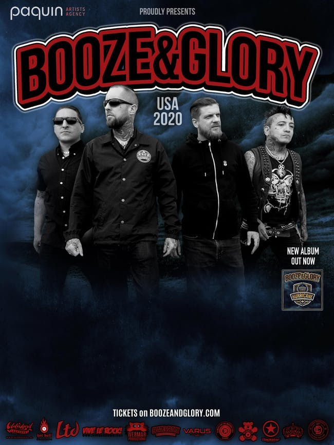 POSTPONED - Booze & Glory, The Drowns, Swift Knuckle Solution