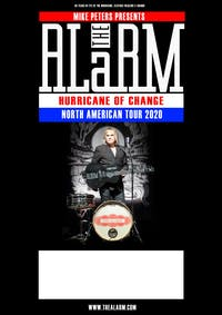Mike Peters presents The Alarm Hurricane of Change  Tour