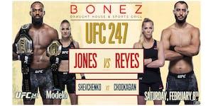 UFC 247 Jones vs Reyes - Watch Party