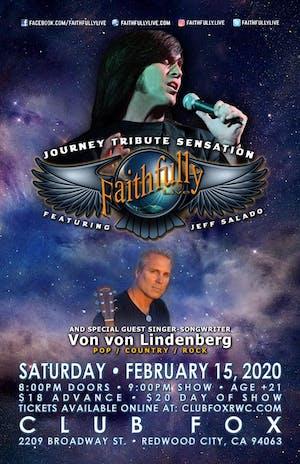 Faithfully Live - Journey Tribute Sensation with Von von Lindenberg