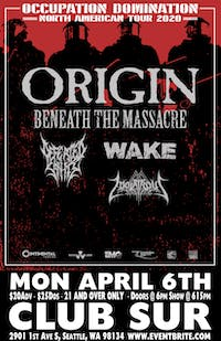 ORIGIN -Beneath the Massacre-Defeated Sanity-Wake +Guests
