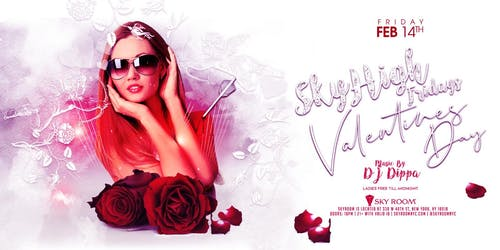 Valentine's Day at Sky Room 2/14