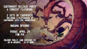 EarthNight (Video Game) Release Party