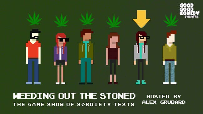 Weeding Out The Stoned - The Game Show of Sobriety Tests