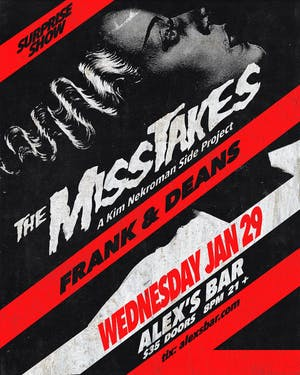 The Misstakes + Frank & Deans