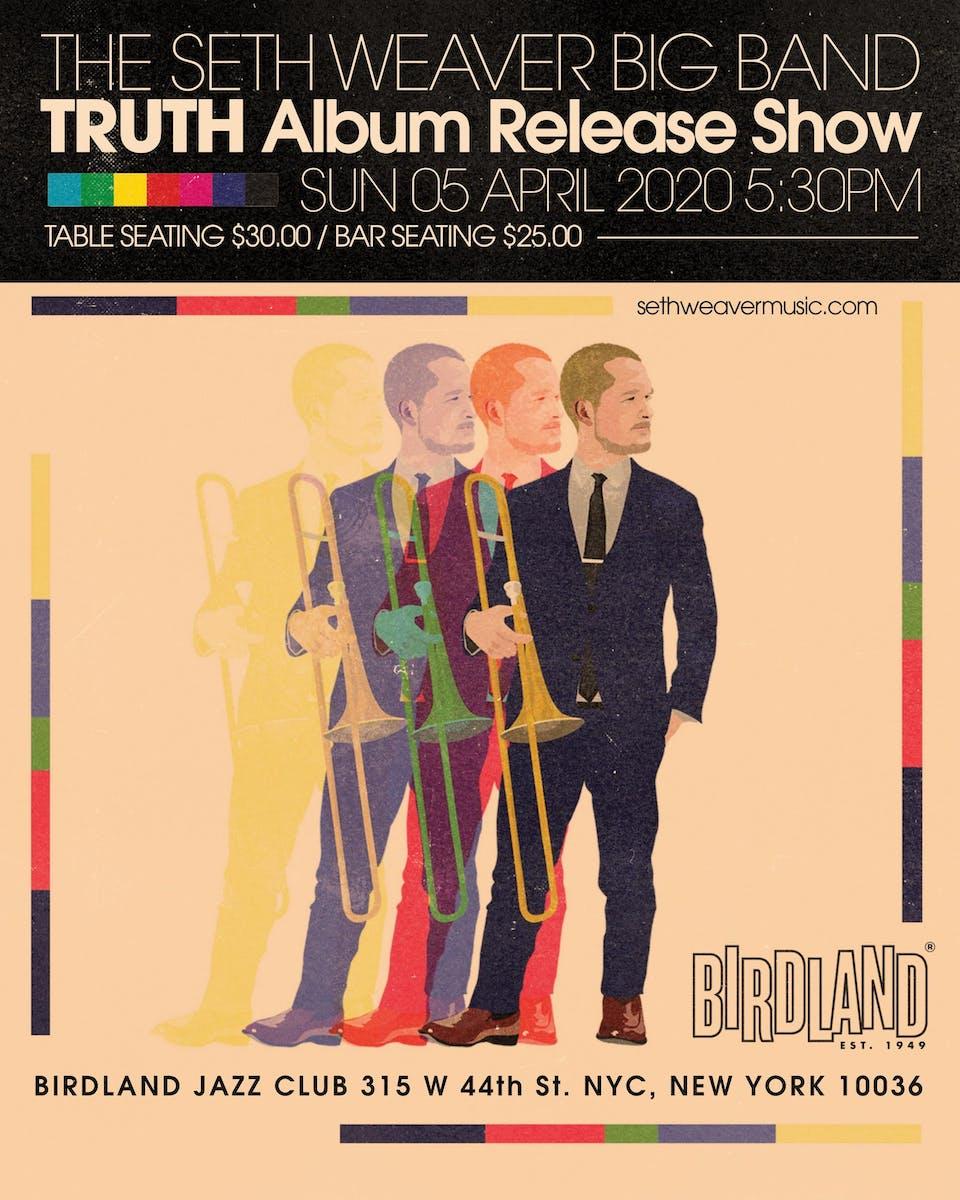 "The Seth Weaver Big Band ""Truth"" Album Release Show"