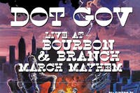 Dot Gov Residency @ Bourbon & Branch (night 1)