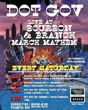 Dot Gov Residency @ Bourbon & Branch (night 4)
