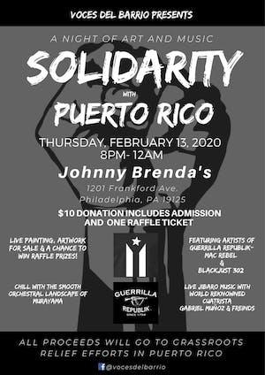 Solidarity with Puerto Rico