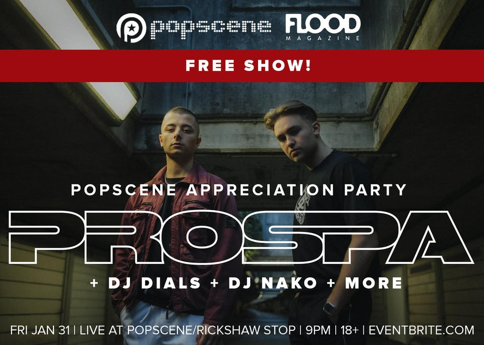PROSPA plus DJ Aaron Axelsen and DJ Dials