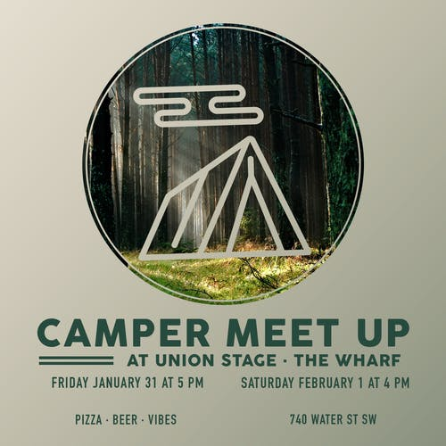 Camper Meet Up: Pre-Party at Union Stage (Night Two)