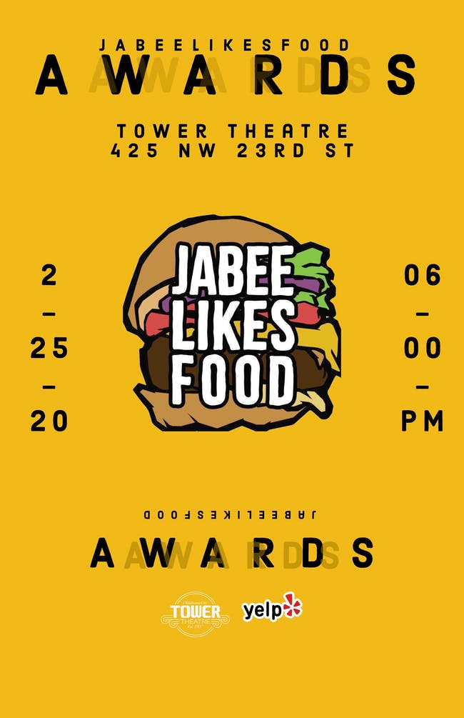 Jabee Likes Food Awards