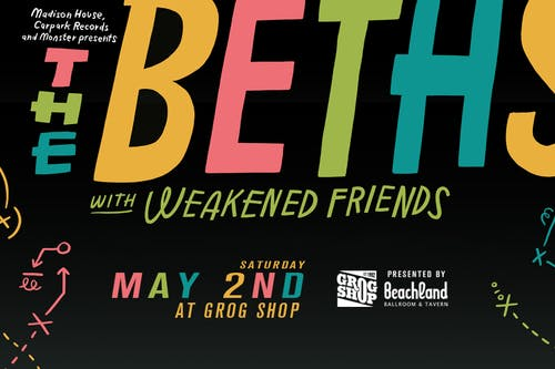 The Beths • Weakened Friends • Biitchseat