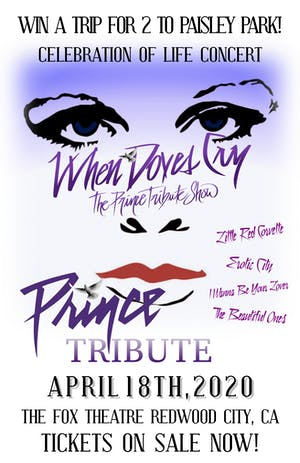 AT THE FOX THEATER - WHEN DOVES CRY - The Prince Tribute Show
