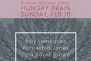 Sunday Reading Series: Billy Lombardo, Parneshia Jones, Billy Lombardo