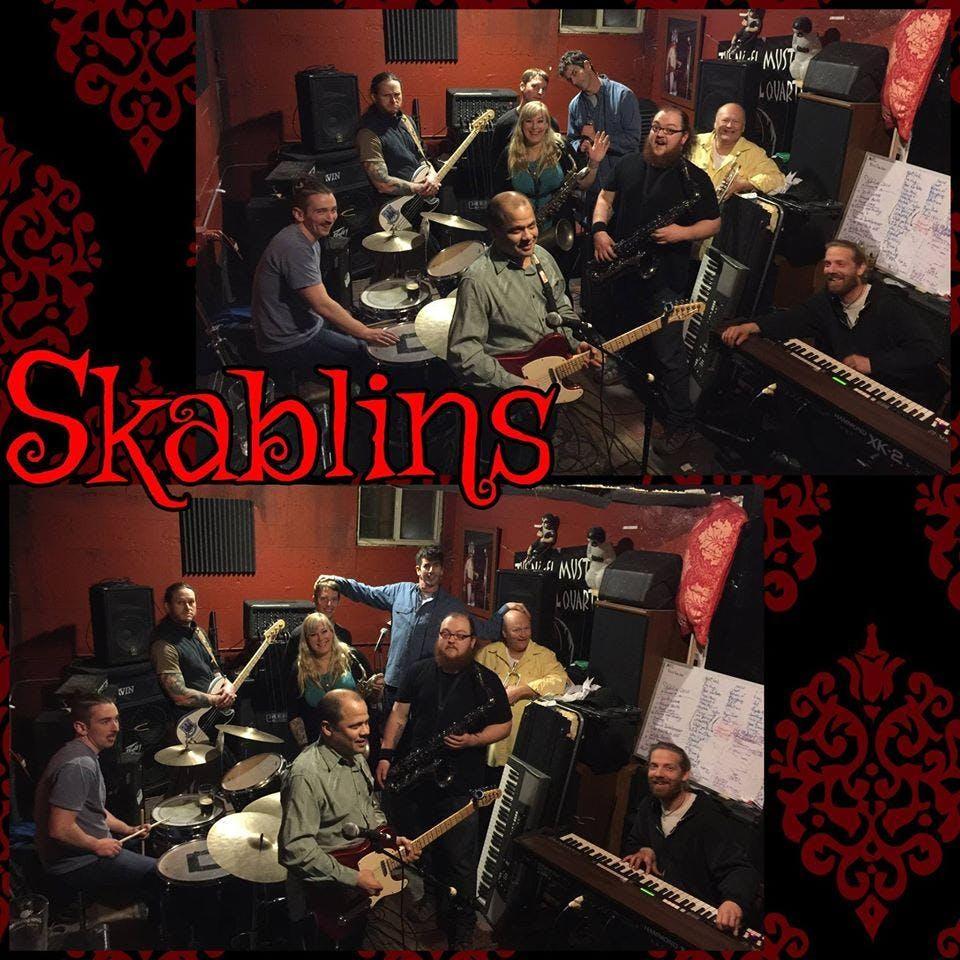 BIG BRASS EXTRAVAGANZA featuring Skablins, Ten Man Brass Band, Highsteppers
