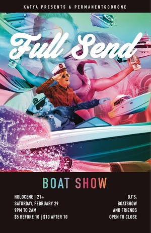 Full Send: Boat Show