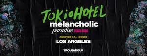 TOKIO HOTEL: Melancholic Paradise Tour 2020