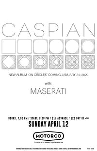 CANCELED - CASPIAN / Maserati