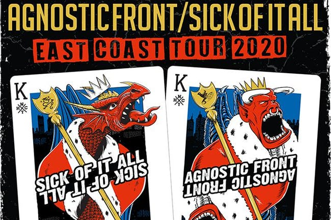 Sick of it All and Agnostic Front