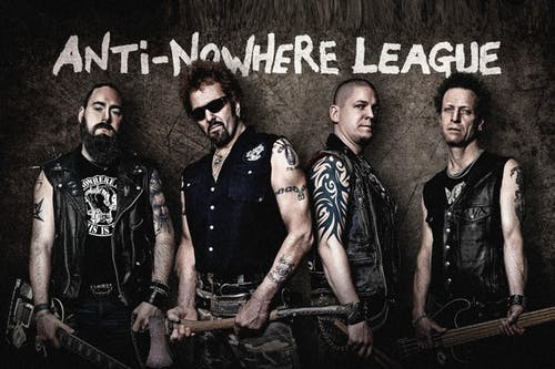 ANTI-NOWHERE LEAGUE, The Varukers, The Besmirchers, Slaughter Boys