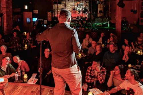 MONDAY MAY 18: COMEDY GAMESHOW
