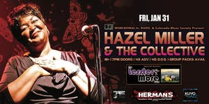 HAZEL MILLER & THE COLLECTIVE w/ The Lesster More Band