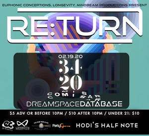 Re:Turn feat. 3420, Comisar, Dreamspace Database