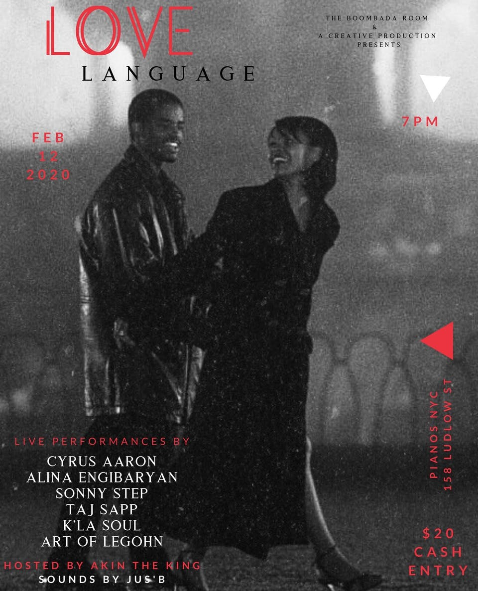 Love Language: ft. Cyrus Aaron, Alina Engibaryan, Sonny Step, Taj Sapp+More