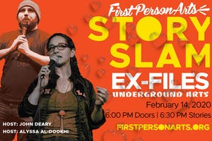 First Person Arts' 10th Annual StorySlam Ex-Files