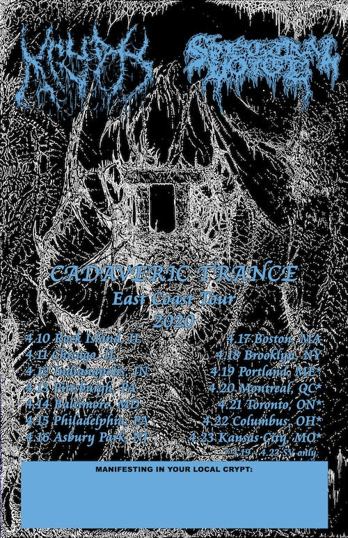 Saint Vitus Presents: Spectral Voice, Krypts, Oxalate, Burial Stone