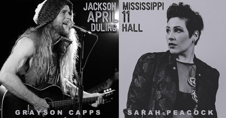 Grayson Capps + Sarah Peacock