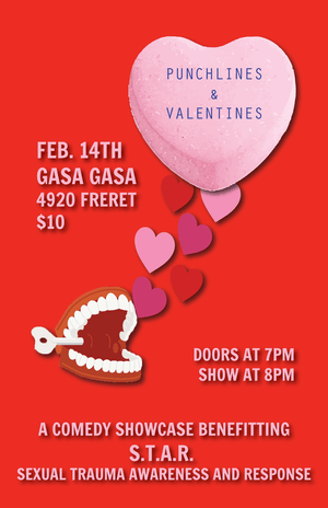 Punchlines & Valentines: A Comedy Benefit for S.T.A.R.