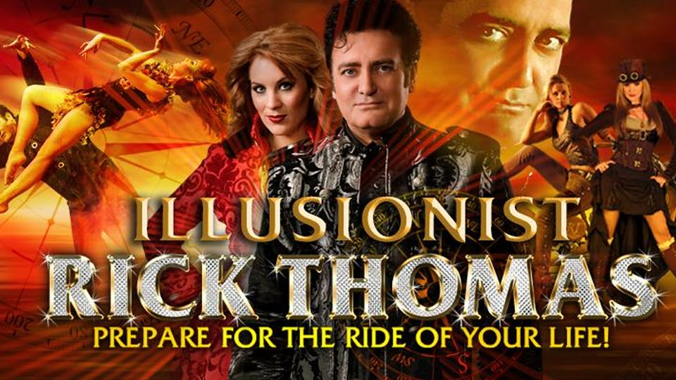 Illusionist Rick Thomas at Maryland Hall