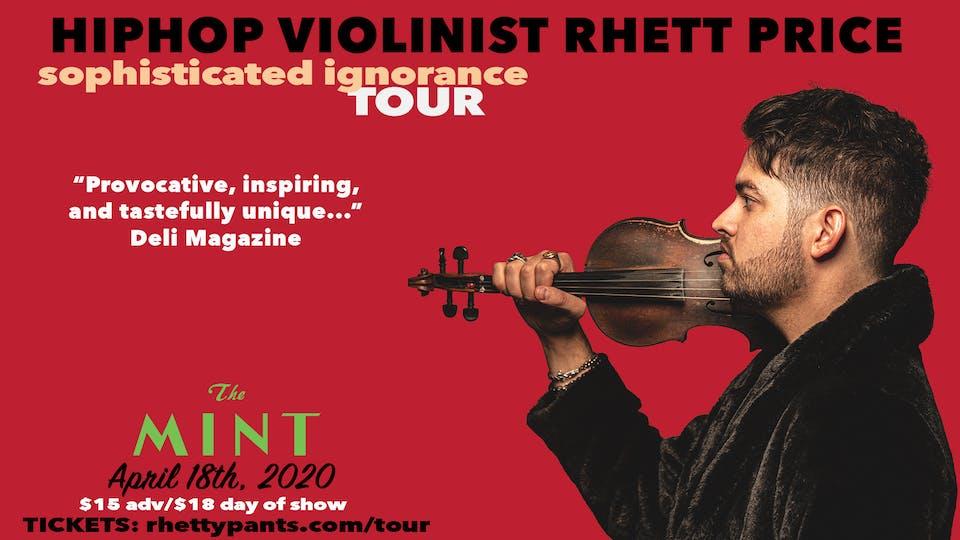 Hip Hop Violinist Rhett Price