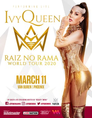 Ivy Queen - Raiz No Rama World Tour 2020