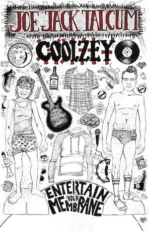 Joe Jack Talcum of the Dead Milkmen with Coolzey & Future Bartenderz