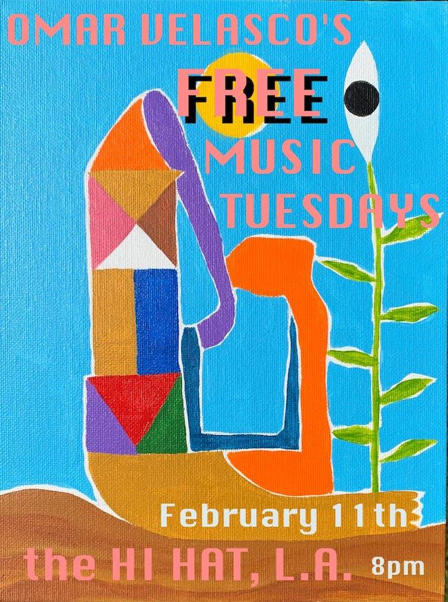 Omar Velasco's Free Music Tuesdays
