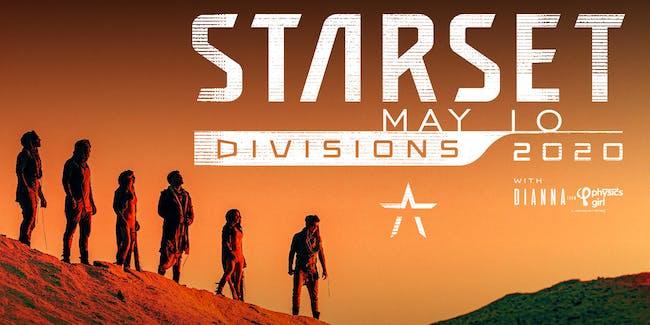 STARSET- Divisions 2020 Tour