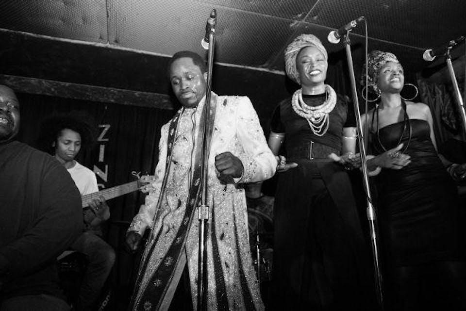 AfroFunk!Cha Cha! Ismael & The Radiant Select,Blue Cha Cha, Ismaila Diarra
