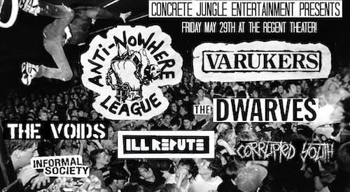 Anti-Nowhere League + The Varukers