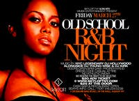 Old School R&B Night