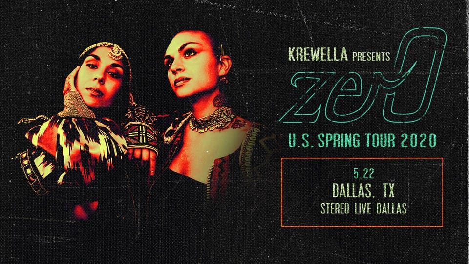Postponed, New Date TBD - Krewella - Stereo Live Dallas