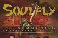 SOULFLY / TOXIC HOLOCAUST / SIFT THROUGH THE ASHES / SCULPTING ATROCITY