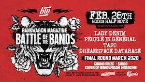 BandWagon Battle of the Bands @ Hodi's Half Note