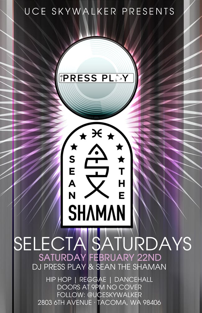 Selecta Saturdays//Dj Press Play